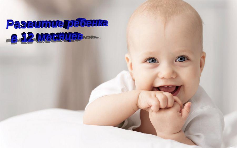 Развитие ребенка в 12 мессяцев