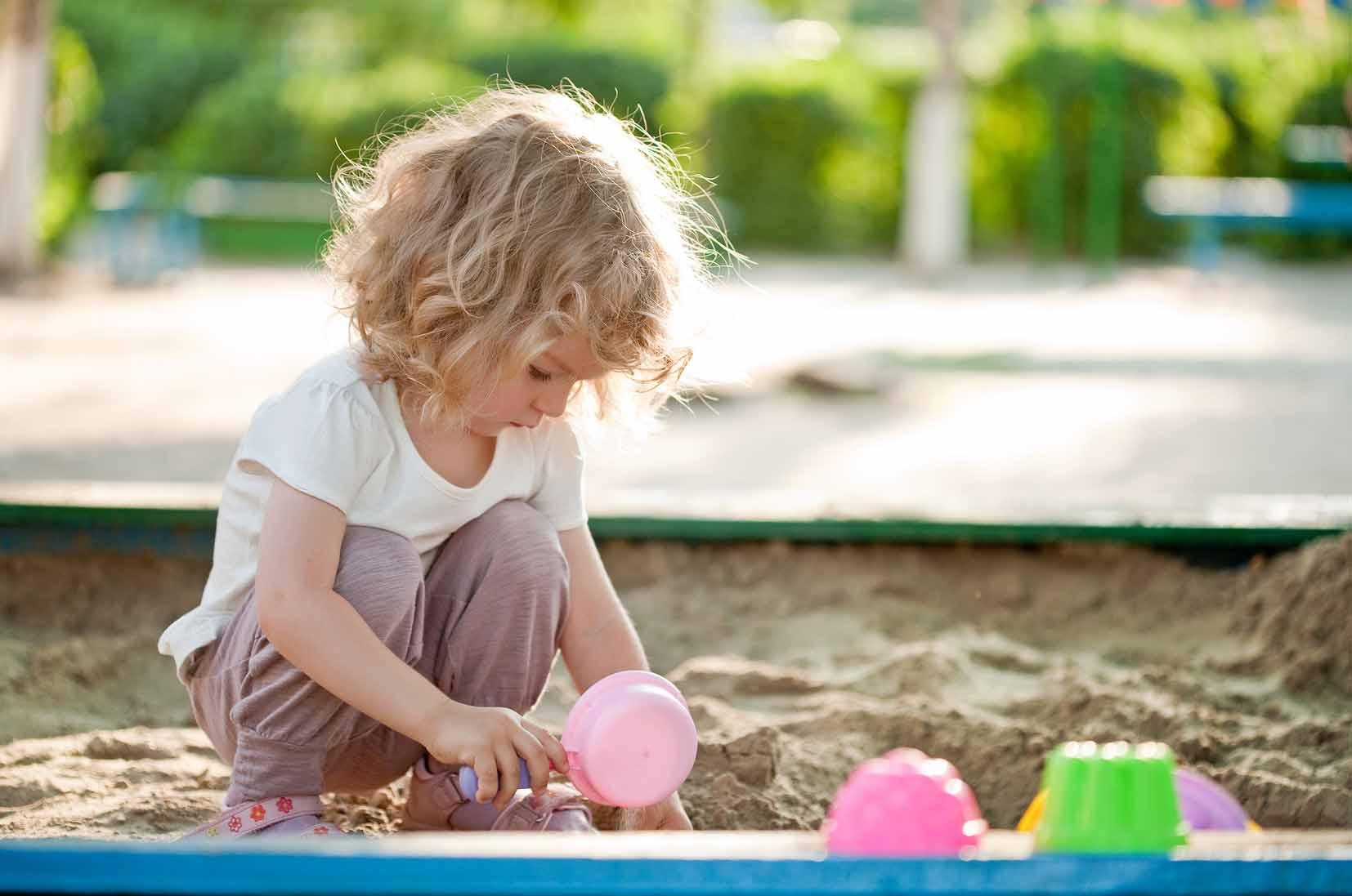 Поведение детей на детской площадке