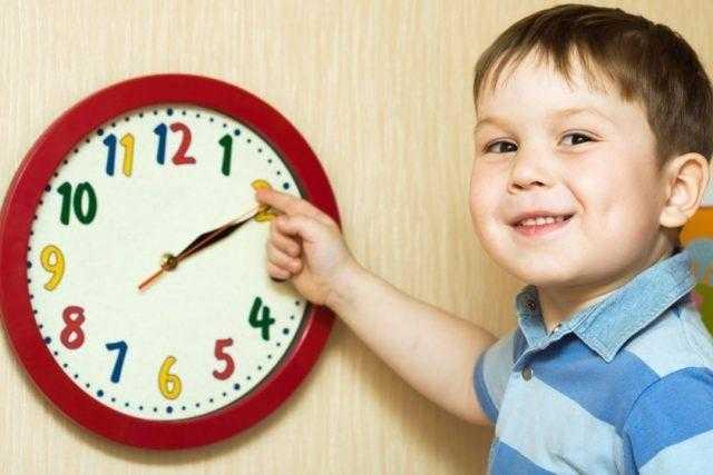как приучить ребенка к распорядку дня