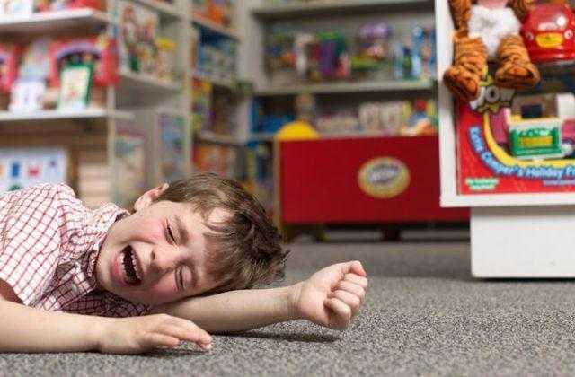 Поведение детей в магазине
